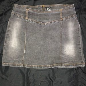 Dark denim jean skirt size 7/8